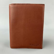 BALLY Brown Leather Rectangle A-Z Agenda