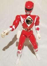 "Vintage 93 Mighty Morphin Power Rangers Jason Red Ranger 8"" Action Figure Bandai"