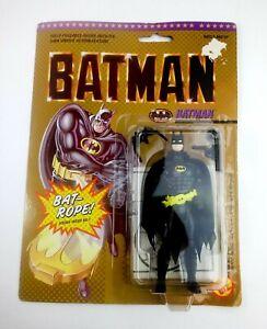 1989 Toy Biz  Batman w/Bat-Rope Action Figure New