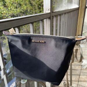 Michael Kors Travel Medium Luggage Kit Pouch Cosmetic Makeup Bag Cases Black