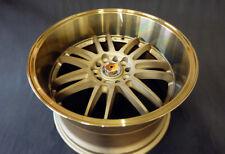 "18"" 5x114.3 9.5J 10.5J Deep Dish Alloy Wheels with Super GT Spike Wheel Nuts"