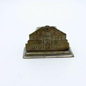 Antique Metal Building Tape Measure, Crank, NR