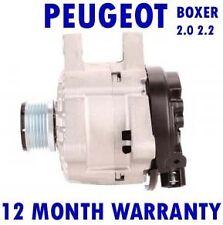 Boxer Peugeot Bus Caja HDi 2.0 2.2 (244) 2002 2003 2004-2015 Alternador