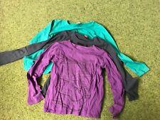 3 Sweatshirts Mädchen 122 128 134 Esprit Mexx S.Oliver grün blau violett