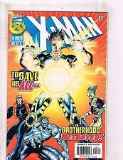 Lot of 8 X-Man Marvel Comic Books #28 33 36 38 39 41 42 43 DC4