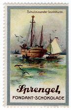 (I.B) Germany Cinderella : Sprengel Schokolade (Sailing Boats)