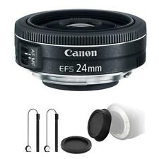 Canon EF-S 24mm f/2.8 STM Lens w/ Accessory Kit For Canon Rebel T3i, T5 and T5i