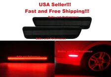 2005 - 2009 Ford Mustang Smoked Lens Red LED Rear Side Markers with 54 LEDs