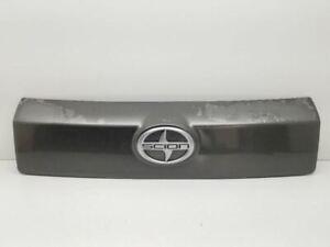08-12 Scion XD Rear Trunk Trim Grey 1G3 76801-52300 OEM