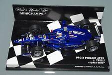 Minichamps F1 1/43 Prost Peugeot AP01 Tour Ailes-Jarno Trulli-L.E. 2222pcs