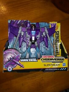 Transformers Cyberverse Action Attackers: Ultra Class Slipstream Action Figure