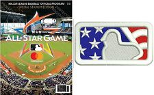 2017 MLB ALL STAR GAME PROGRAM & 4TH OF JULY SPECIAL COMMEMORATIVE JERSEY PATCH