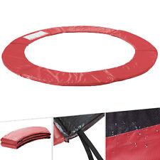 Arebos Coussin de Protection pour Trampoline 487-490 cm - Rouge (4260551584152)