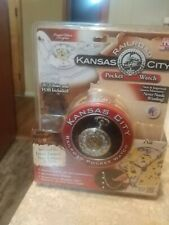 KANSAS CITY RAILROAD POCKET WATCH NEW IN BOX  D1