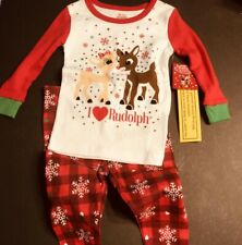Christmas Rudolph Baby Outfit, 2-pieces, 18 Month, NWT