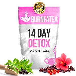 LEMON BURNFATEA 14 DAY DETOX TEA - WEIGHT LOSS TEATOX, DIET TEA, SLIMMING TEA