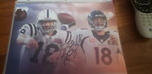 Peyton Manning Signed 8x10 Photo Autographed AUTO Broncos Colts
