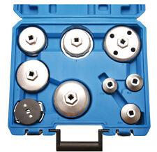 Ölfilterkappen Satz 9 tlg. BGS, Kettenschlüssel - Löseschlüssel - Ölfilterkette
