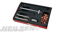 25 Piece Spark Plug Thread Repair Kit M14 x 1.25 with Metal Case
