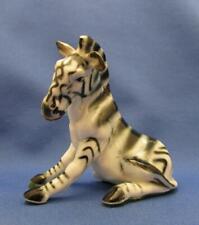 Fine Porcelain Sitting Zebra Figurine
