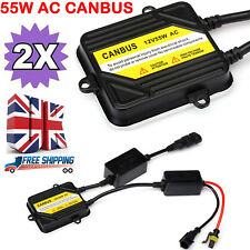CANBUS XENON HID CONVERSION AC 55W BALLASTS FOR H1 H3 H7 H11 HB3 HB4 9005 9006