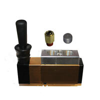 """Pneumatic 3/8"""" NPT Air Inlet 2 Position 3 Way Manual Hand Pull Valve"""