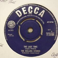 """Rolling Stones(7"""" Vinyl)The Last Time / Play With Fire-Decca-F 12104-UK-Ex/Ex"""