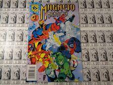 Magneto Magnetic Men(1996) Marvel/DC - #1, Newsstand UPC Variant, Matsuda, VF+