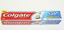 Colgate Salt Double Clean Toothpaste Virgin Oil Coconut Healthy Teeth Gums 80g.