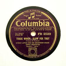 "SYDNEY LIPTON & HIS DANCE ORCHESTRA ""Sierra Sue"" COLUMBIA FB-2529 [78 RPM]"