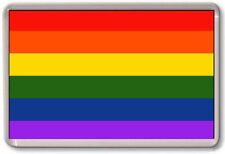 FRIDGE MAGNET - GAY PRIDE - Rainbow Flag, LGBT