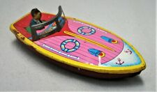Vintage Tin Speed Boat - Made in Japan