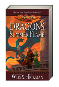 Dragonlance Chronicles Dragons of Summer Flame by Tracy Hickman & Margaret Weis