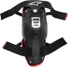 ALPINESTARS Bionic Knee Guards (One Pair) MX ATV Off-Road (Black) Adult One Size