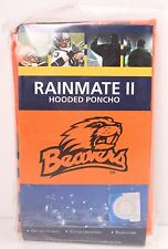 LICENSED Rainmate II OREGON STATE BEAVERS hooded pullover rain poncho Orange NWT