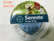 Bayer Seresto Flea and Tick Collar for Large Dog over 18Ibs 8 Month Protection