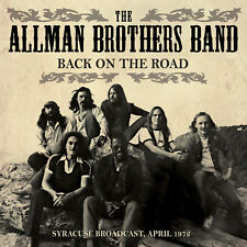 ALLMAN BROTHERS BAND New Sealed 2018 UNRELEASED LIVE 1972 SYRACUSE CONCERT CD
