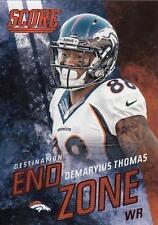 2014 Score Destination End Zone Red #DE8 Demaryius Thomas Broncos
