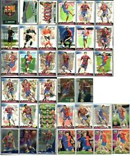 37 fichas Barça completo + ultima hora + tops Mundicromo liga de Messi 2008-2009