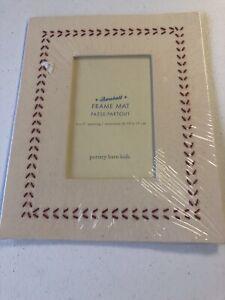 Pottery Barn Kids Baseball Frame Mat (4x6 photo) - New in Packaging