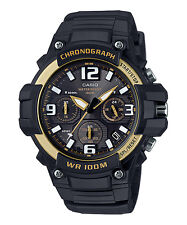 Casio Analog Rugged Sports Watch Mcw-100h-9a2 Chronograph WR 100m Express Post