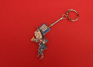 The Mad Hatter Alice in Wonderland Keyring Literary Collectable Xmas Gift