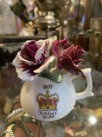 Healacraft Pottery Jug - 1977 Jubilee Year