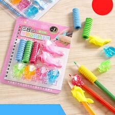 9/set comfort foam pen pencil grip pen control pupil handwriting aid kid schoolD