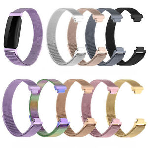 For Fitbit inspire 2 Watch Magnetic Band Replacement Stainless Wrist Bracelet