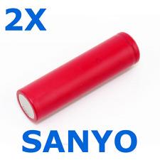 2X - SANYO ORIGINAL NCR18650GA BATERIA DE LITIO 3500MAH 3,7V 18650 PANASONIC