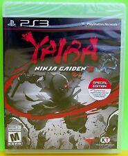 PlayStation 3 PS3 Game - Yaiba Ninja Gaiden Z (New)