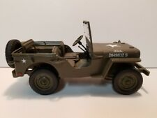 DIECAST WILLYS PATROL JEEP 7-1/2 in Length