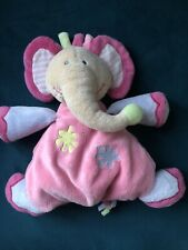 Dreamtime Elephant Pink Comforter Stuffy Lovey Hug Toy