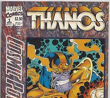 COSMIC POWERS #1 with THANOS from Avengers Movie from Mar. 1994 in F/VF con. DM